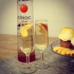 Enjoyed a Peach Bellini using Ciroc Ultra Premium Vodka