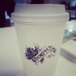 Stumptown coffee break.