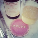 Good Friday brunch at Prune in NYC