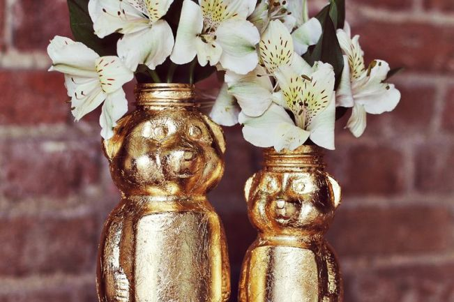 gold honey bear diy