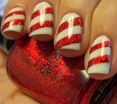 xmas candy cane nails nail art essentials