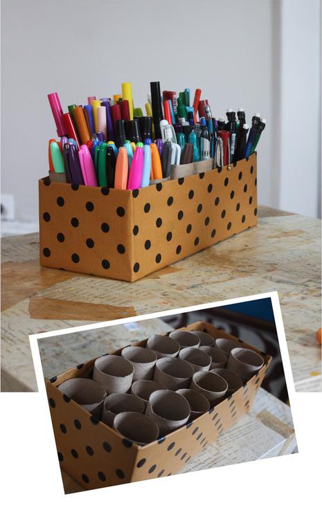 polka-dot-pencil-holder