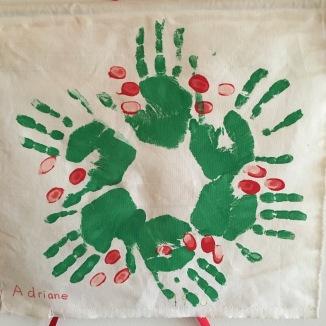 "Adrian'e childhood ""handmade"" wreath"
